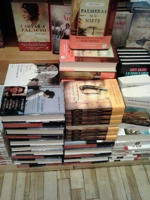 El enigma... en la libreria del Corte Inglés
